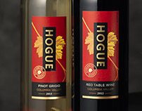 Hogue Wines Labels and Packaging Design