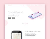 Navigation app website