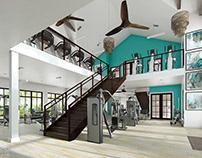 Island Walk // CGI Interior Visualisation