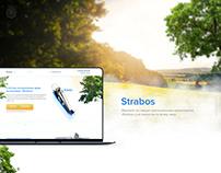 Strabos - landing page