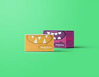 'Büyülü Bohça' tea packaging design.