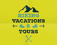 Mountains / Hiking / Camping Poster and logos