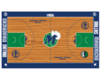 Dallas Mavericks Court