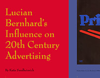 Lucian Bernhard's Influence on 20th Century Advertising