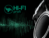 HI-FI - online store audio and video equipment, UX/UI