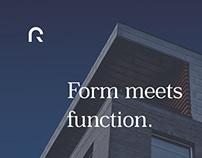Richards Architects   Logo & Brand Identity