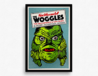 The Woggles – Gigposter