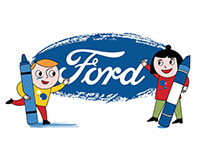 FORD TRUCKS / COLORING BOOK