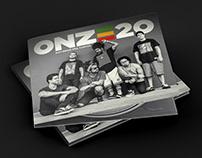 ONZE20 logo redesign + album cover