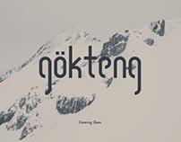Gökteng Typeface