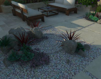Residential design, Xeriscape, San Jose, CA