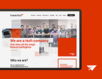 Travactory - website, job fairs product
