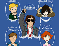 The Breakfast Club - Tshirt