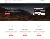 CleaThin - Multipage Bootstrap Business Template