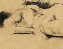 Sketches of the female body