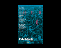 Visual Rebrand for Pitchfork's Music Festival