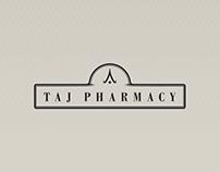 Identidade Visual - TAJ Pharmacy