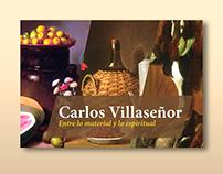 Carlos Villaseñor. Entre lo material y lo espiritual