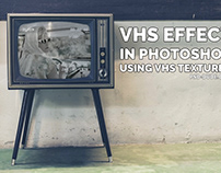 VHS Effect Photoshop