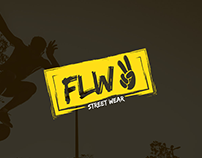 Flw Street Wear - Branding Identity