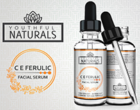 C E Feluric facial Serum