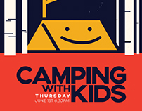 Camping with Kids - Moosejaw Shop Event