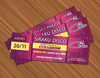 Evento Siraku Disco