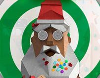 Interactive Santa Claus – a face tracking installation