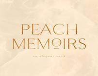 FONT - Peach Memoirs