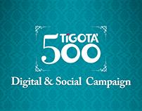 500 Tigotà - Digital & Social Campaign