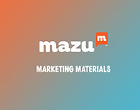 Mazu - Marketing Materials