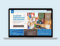 Pak2000 Website Redesign