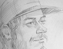 Portrait sketches 2013-2016