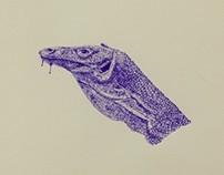 Biro Komodo Dragon