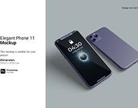 Elegant Phone 11 Mockup