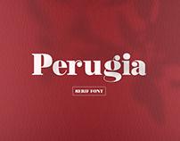 Perugia - Fonte Serif