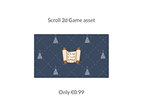 Scroll Game Asset