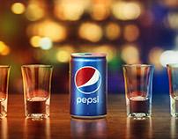 Pepsi Mini Launch