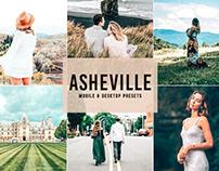 Free Asheville Mobile & Desktop Lightroom Presets