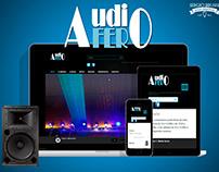 AUDIOFER - DISEÑO WEB -2012
