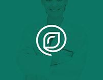 Berezka: dental clinic logo