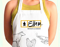 Eller - Brasa & Sabor - Design de Marca