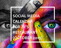 JRs Restaurant Social Media Marketing
