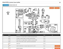 Briggs Part Store responsive website