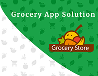 Grocery Delivery Mobile App Solution Design Concept