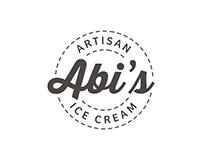 Abi's Ice Cream - Branding