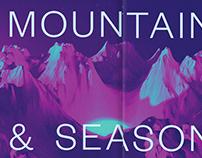 Mountains & Seasons, Colors & Feelings