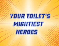 TOILET'S MIGHTEST HEROES