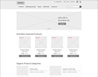 NutriMax - Ecommerce Website Design