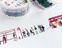 [Aimez le style] Bus stops